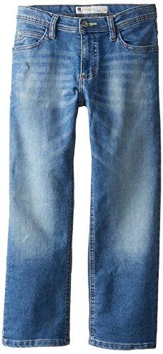 Jeans Lee Boys - Lee Big Boys' Husky Sport Straight Fit Jeans, Ollie, 14 Husky