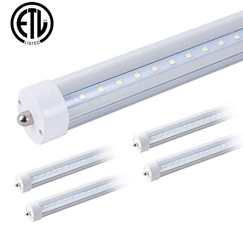 (8ft Led Bulbs For Fluorescent Fixtures T8 T12 8' Led Tube 96