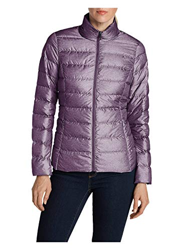 Eddie Bauer Women's CirrusLite Down Jacket, Dk Plum Regular S