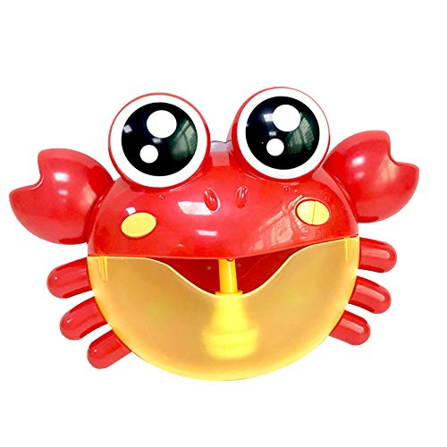 Littleice Bubble Machine Bath Toy,Tub Big Crab Frog Automatic Bubble Maker Blower 24 Music Song Bath Toy for Baby (C) ()