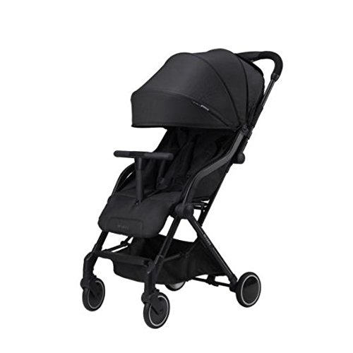 Ryan 2018 Gram+ Lightweight Baby Stroller (Matt Black)