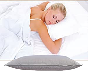 Amazoncom thomasville captivate synthetic down pillow 2 for Best king size down pillows