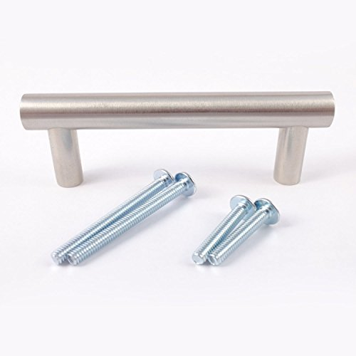 Brushed Stainless Pull Plate (Solid Stainless Steel 4