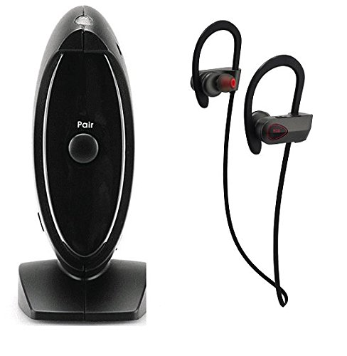 BLUETOOTH ADAPTER + HEADSET BUNDLE - ANSWER ALL YOUR MOBILE & HOME LINE CALLS! (Pstn Adapter)