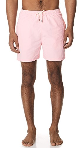 Solid & Striped Men's The Classic Pink Trunks, Pink, Medium by Solid & Striped