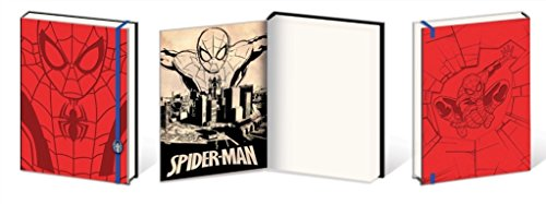 SpiderMan Comic Book Premium Journal Journal Notebook 6x8