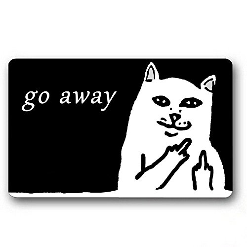Go Away Door Mat - 5