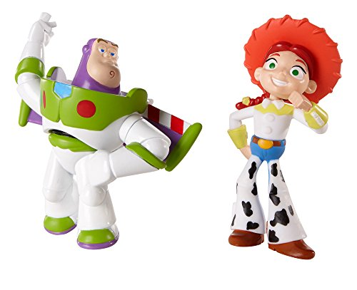 Disney Pixar Toy Story 20th Anniversary Jessie and Spanish Buzz Lightyear  Figure Buddy 2-Pack 3d9b18228eb