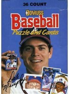 4 Box Lot ~ 1988 Donruss Baseball Unopened Wax Box ~ 36 Sealed Packs Per Box