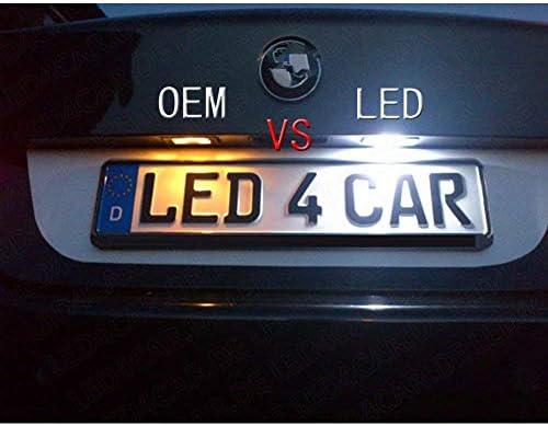 LED Licence Number Plate Light For Volvo C70 S40 S60 V50 V60 XC60 XC70 XC90