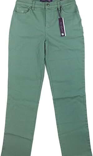 Gloria Vanderbilt Amanda Colored Straight Leg Denim Jeans