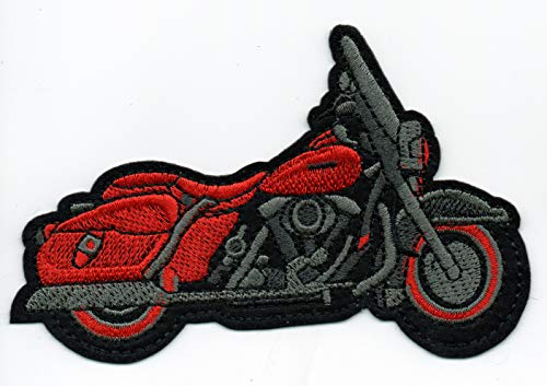 Patch Harley Owner Moto Red Motorcycle Kawasaki Suzuki Race Biker Rare Hot Jacket Cloth Size Badge America Punk Chopper Commando Motif Badge Emblem Embroidered Applique Iron Sew On Bestdealhere (1)