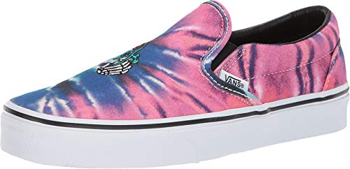 Vans Unisex Classic Slip-On¿ (Tie-Dye) Multi/True White 9 Women / 7.5 Men M US
