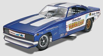 Revell Roland Leong's Hawaiian Dodge Charger NHRA Funny Car 1/25 Scale Model Kit - Funny Car Chassis