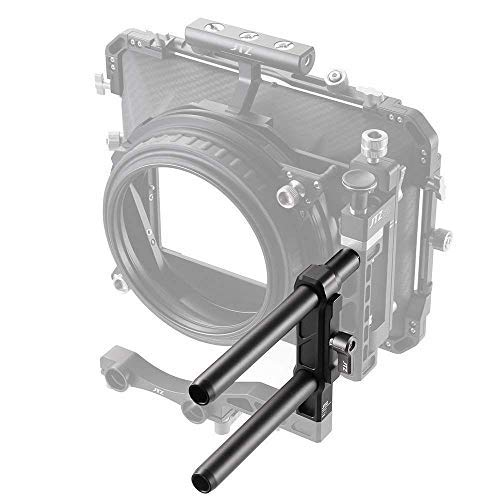 JTZ DP30 Side Installation Module for 4x4 4x5.65 5.65x5.65 6x6 Swing Away Matte Box Rig with 2pcs15mm Rod 2pcs Joint Screw Adapter by Runshuangyu