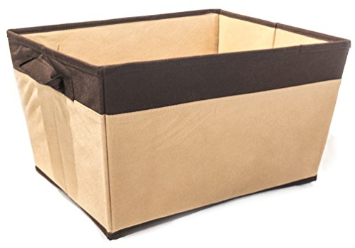 ATHome Storage Bin, Coffee,