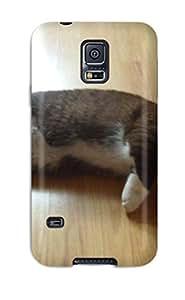 NoZWbRR3976juTzN Snap On Case Cover Skin For Galaxy S5(munchkin Cats )