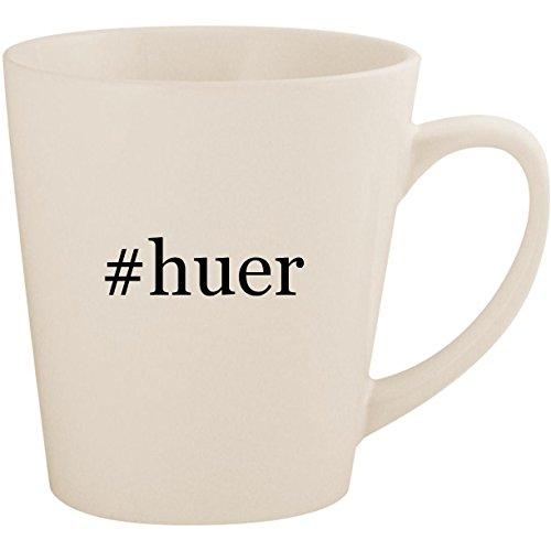 Price comparison product image huer - White Hashtag 12oz Ceramic Latte Mug Cup