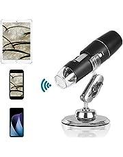 Draadloze microscoop, draagbare mini-USB-elektronenmicroscoopcamera Geschikt voor smartphonetablet