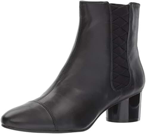 Nine West Women's Iselin Leather Ankle Boot