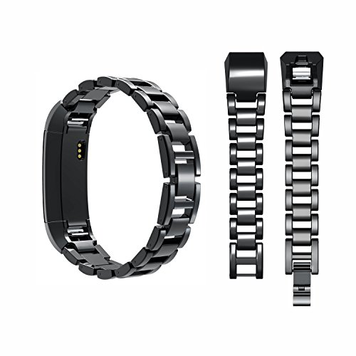 Wearlizer Compatible with Fitbit Alta Bands and Fitbit Alta hr Bands,Metal Alta Replacement Band Wrist Bands Strap…