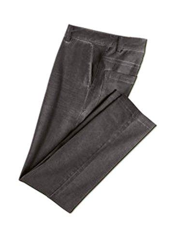 Herren Freizeithose Vintage Hose Anthrazit Größe Wählbar