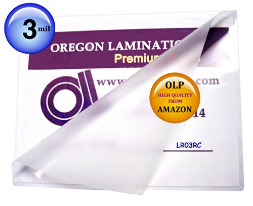 Letter Laminating Pouches 3 Mil 9 x 11-1/2 Hot Qty (3 Mil Letter Laminating Pouch)