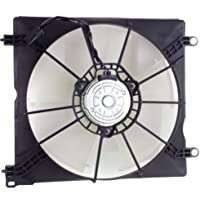 MAPM Premium ACCORD 13-16 RADIATOR FAN ASSEMBLY, Single Fan, 4 Cyl, (Coupe-LX-S)/(Sedan-Toyo Brand), Exc Hybrid