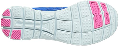 Skechers Dame 11729 / Ccbk Flex Appel-sweet Spot Kul / Sort Lav Top Blau (blhp) vS51PHk
