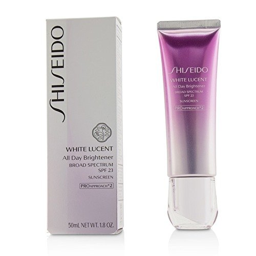 NEW! Shiseido White Lucent All Day Brightener, Broad Spectrum SPF 23 - 50ml