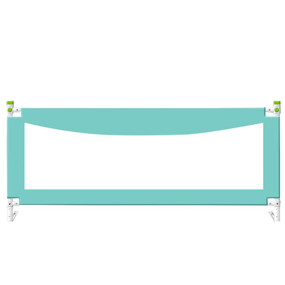 ベッドレールベビーチャイルドベッドガードレールベビーベッドサイドフェンス2.2 M 2 M 1.8 mベッドレール耐衝撃性バッフルリフトベッド (色 : Green, サイズ さいず : 2m) 2m Green B07L2ZSD4M
