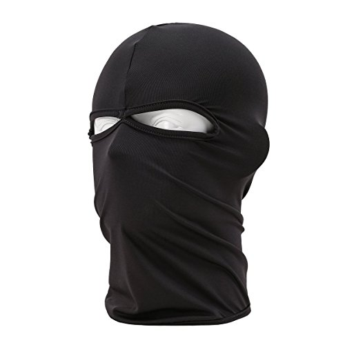 Ski Mask Winter Warm Snowboard Face Mask Bandana Neck Cover 2 Holes