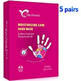 Moisturizing Hand Mask YOUPINWEI, Deep Nourishing Hand Treatment Care for Dry Skin Hands (5 pairs/Box)