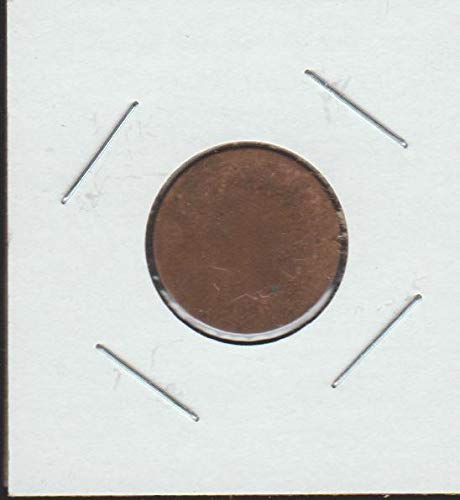 1868 Indian Head (1859-1909) Penny About Good +