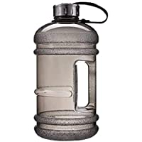 Gallon Water Bottles Gym,Womdee Outdoor Large Capacity 2.2L Water Bottle,Water Jug Container BPA Free Plastic Large…