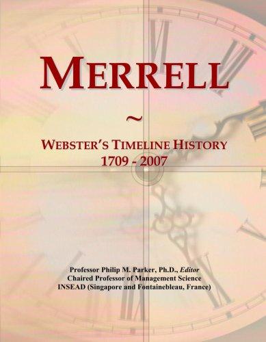 merrell-websters-timeline-history-1709-2007