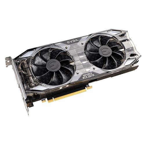 EVGA GeForce RTX 2070 XC GDDR6, Dual Fans RGB LED Graphics 08G-P4-2172-KR