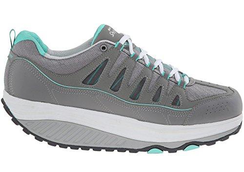 71eb00712a Skechers Women's Shape Ups 2.0 Comfort Stride Fashion Sneaker, Gray/Mint,  11 M
