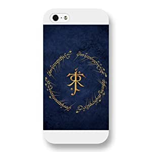 UniqueBox the Lord Of The Rings Custom Phone Case for iPhone 5 5S, Lord Of The Rings Customized iPhone 5 5S Case, Only Fit for Apple iPhone 5 5S (White Frosted Shell)