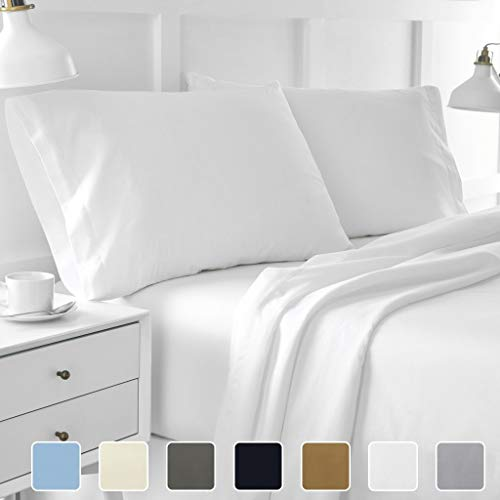 Ultrasoft King Bed Sheets - 4-Piece Hotel Luxury Bed Sheets - Premium Collection 1800 Series Ultra-Soft Brushed Microfiber Sheet Set - Hypoallergenic - Wrinkle Resistant - Deep Pocket fits upto 16