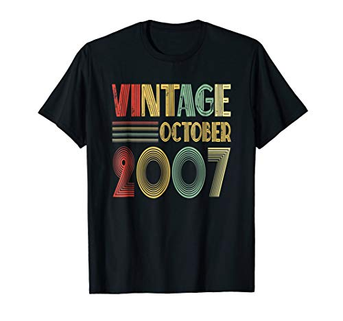 Retro Classic Vintage October 2007 - 11th Gift 11 Yrs Old -