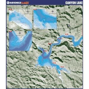 Navionics Paper Map: Canyon Lake (Navionics Paper Map)