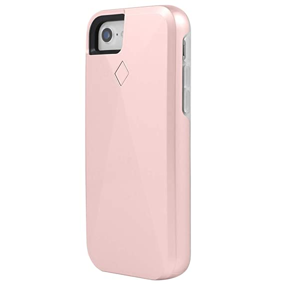 finest selection 32a92 a801a Amazon.com: Incipio LUX Brite iPhone 7 | iPhone 8 Case with ...