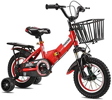 """Kid/'s Bike Seat Red for 12/"""" or 16/"""" Bicycles"""