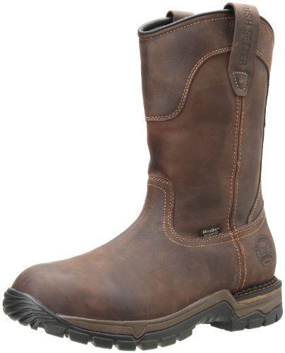 Men Wellington Boots - Irish Setter Men's 83907 Wellington Work Boot,Brown,8 D US