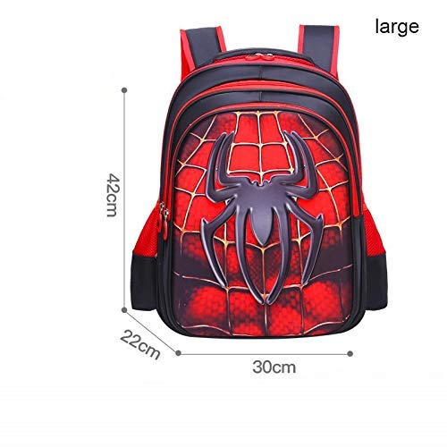 BIGMENG Marvel Avengers Spider Man Backpack School Bag for Boys Kids Student Book Bag