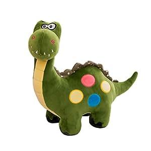 "TOYMYTOY 14"" Dinosaur Plush Toy - Stuffed Animal for Kids, Green"