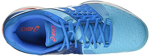 7 Asics Blast Jewel Blue Mixte Gel Coral Blu Gymnastique White Adulte Flash rx8xO