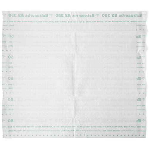 - Medline Extrasorbs Extra Strong Disposable Underpads, Super Absorbent Dry Pads, 30