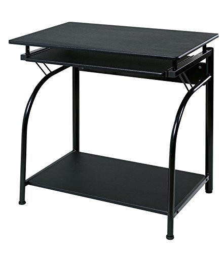 - OneSpace Stanton Computer Desk with Pullout Keyboard Tray